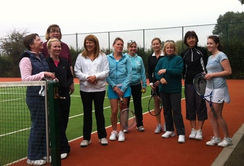 Ladies Social Tennis – Friday 31/3/17