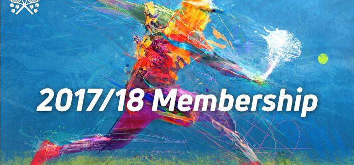 2017/18 Membership Renewal