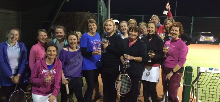 Ladies Social Tennis Evening – Friday 14 July