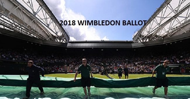 Wimbledon Ballot Social