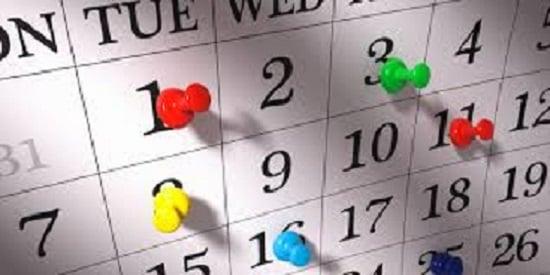 Dates, dates dates!!